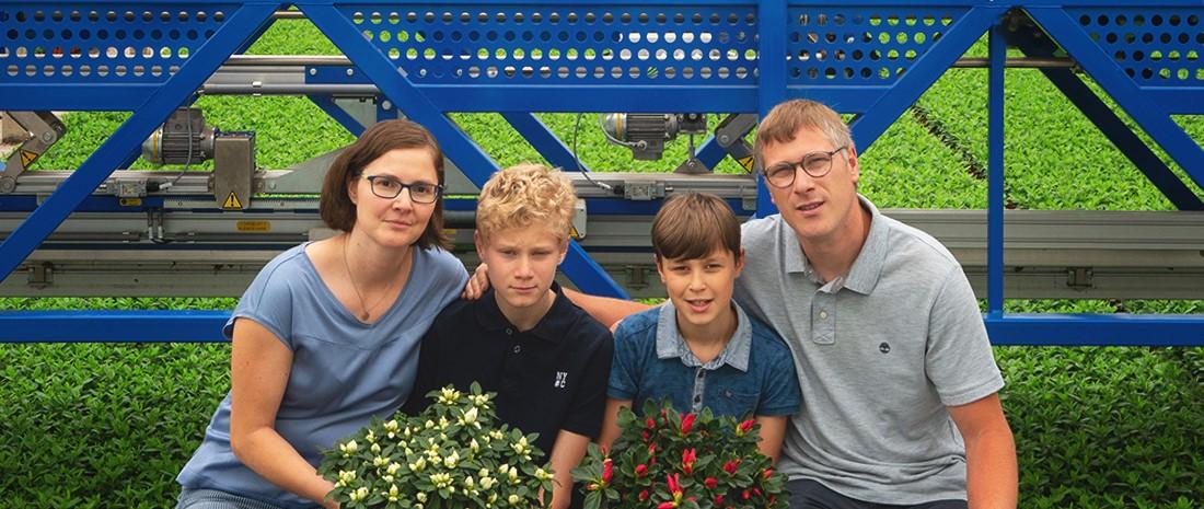 Familie Van Laere-De Heyn van de Azaleashop