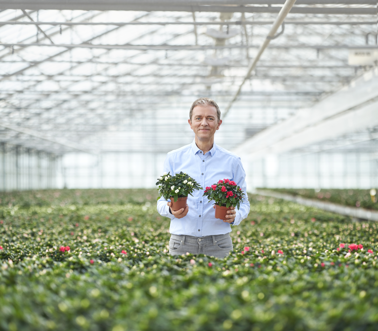 Campagnebeeld Plantjesweekend Kom op tegen kanker