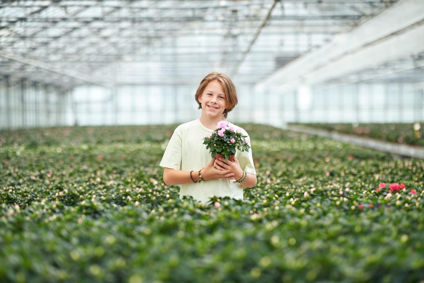 Vrijwilliger Plantjesweekend Kom op tegen Kanker